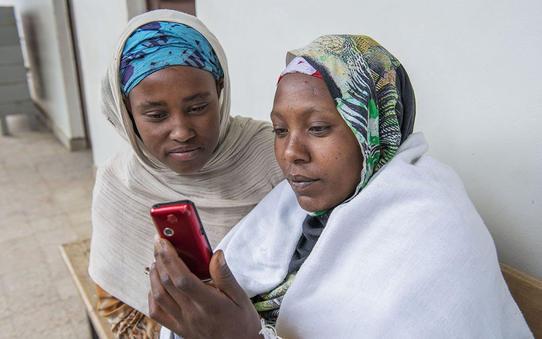 SPIDER supports mobile solution to improve maternal and child health in Ethiopia