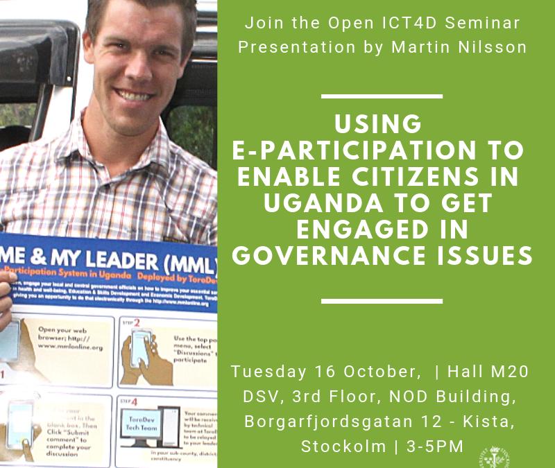 Open ICT4D Seminar